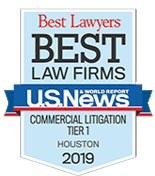 Best Law Firms - Commerical Litigation 2016